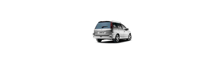 Pellicole Oscuranti Per Peugeot 206 SW dal 2002 al 2006 Pre Tagliate a Misura Oscuramento Vetri